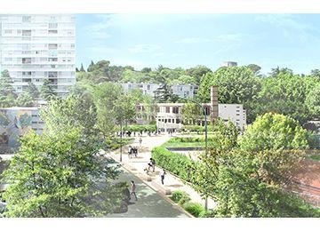 Réaménagement des abords de l'école Jules-Ferry et de l'Allée des jeux au sein du quartier des Escanaux