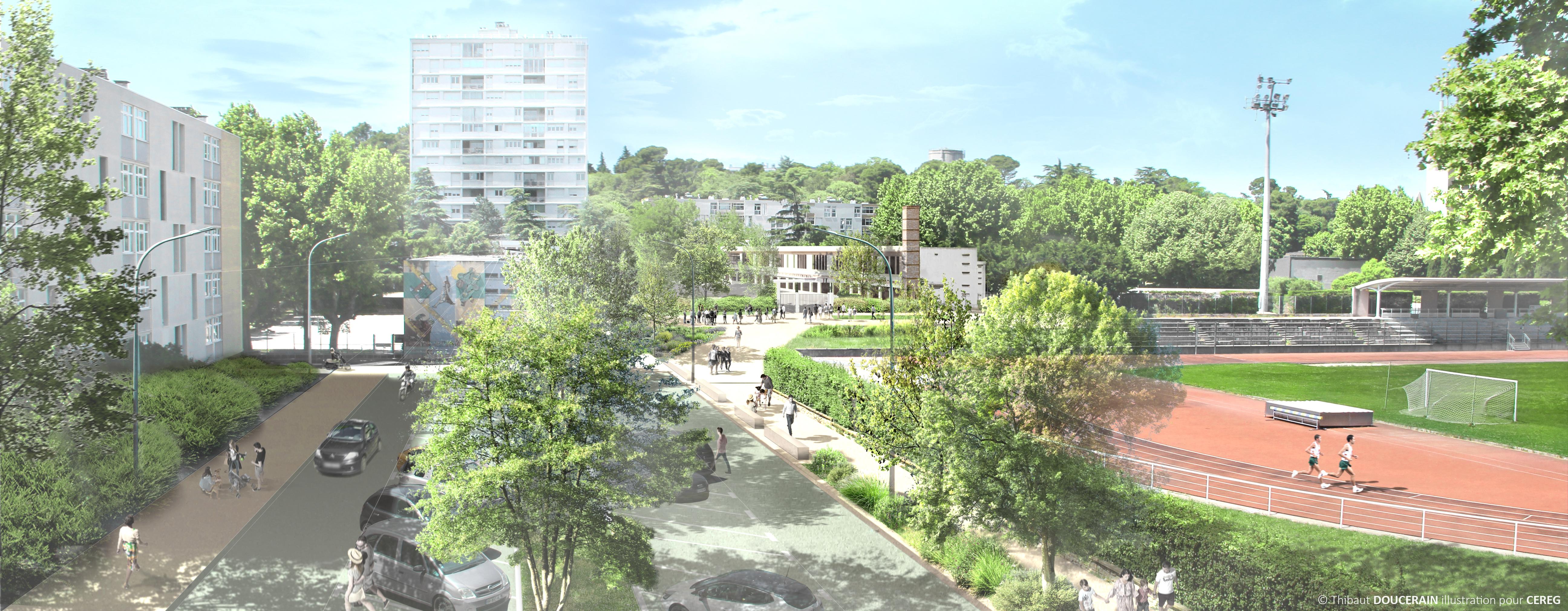 Les travaux de réaménagement de la place Léon Jouhaux débutent