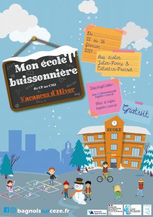 Mon école buissonnière: Vacances d'hiver ANNULÉ
