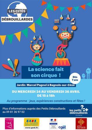 """Cité débrouillarde """"La science fait son cirque"""""""