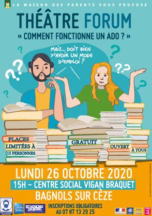 """Théâtre forum """"Comment fonctionne un ado ?"""""""