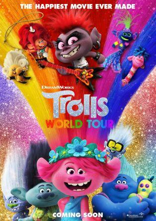 Les trolls : tournée mondiale