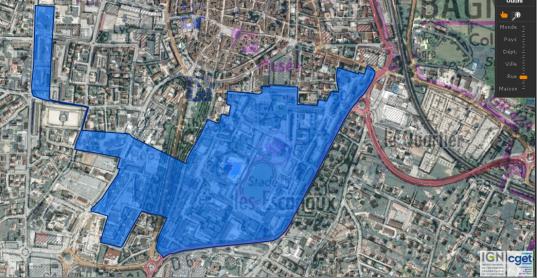 plan Pde la Ville